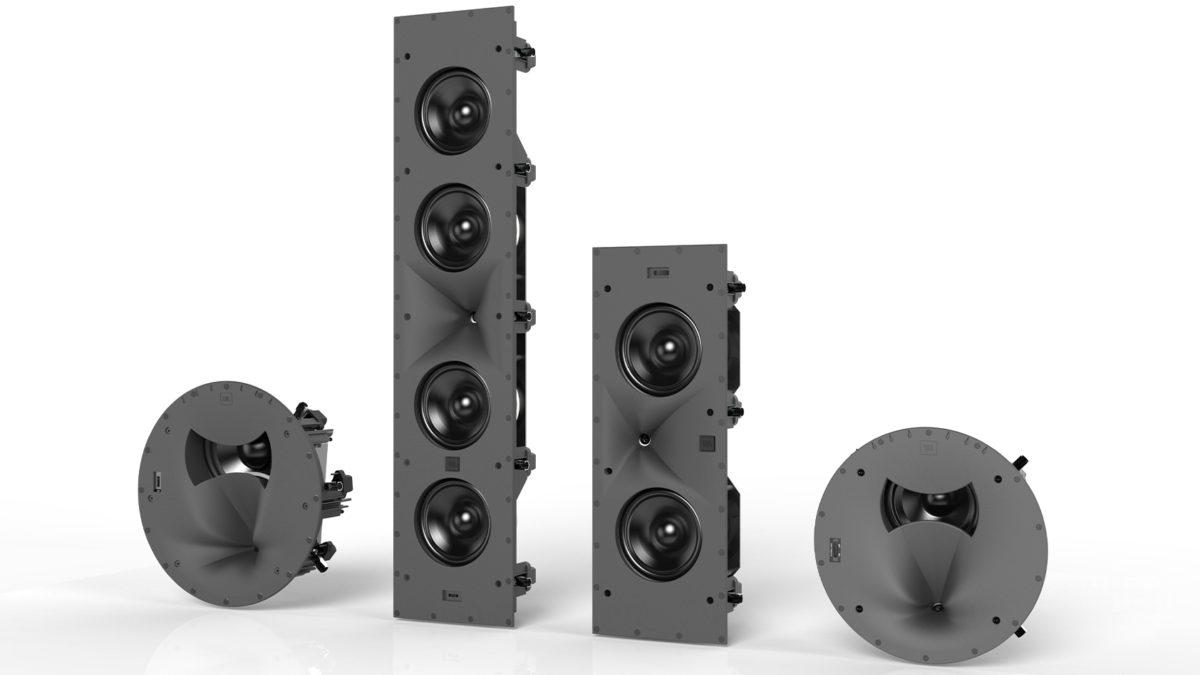 Sistemas de som premium da série JBL Synthesis SCL