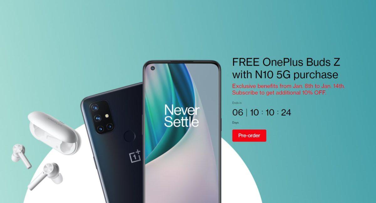 Oferta OnePlus Nord N10 Buds Z