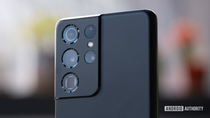 Samsung Galaxy S21 Ultra camera module macro 5