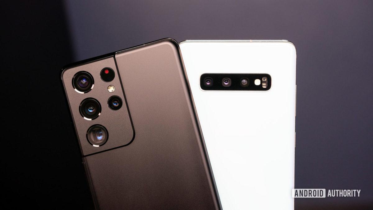 Samsung Galaxy S21 Ultra vs Samsung Galaxy S10 Plus 1