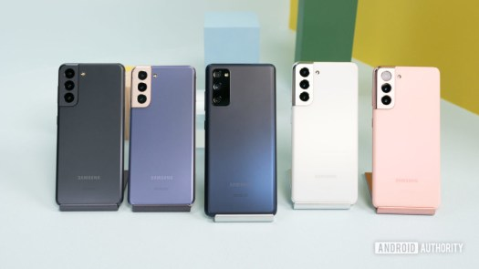 Samsung Galaxy S21 vs Samsung Galay S20 FE 2