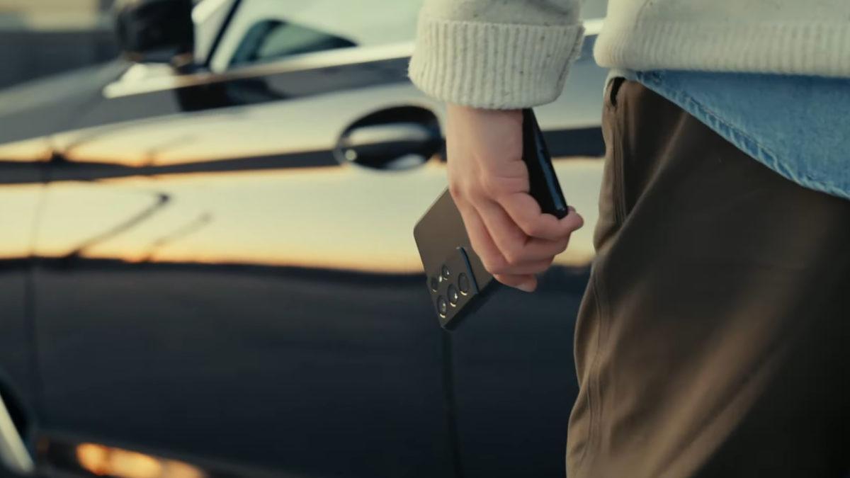 Samsung Phone Car Key
