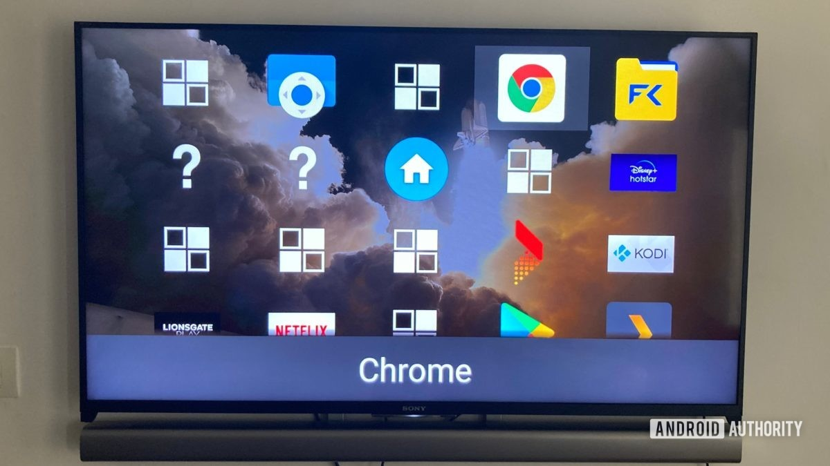 Sideload launcher Android TV