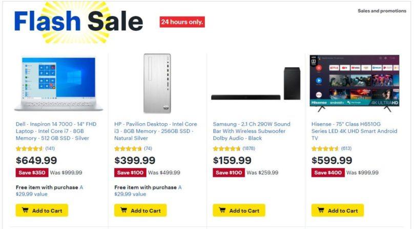 Best Buy Flash Sale Feb 23 2021