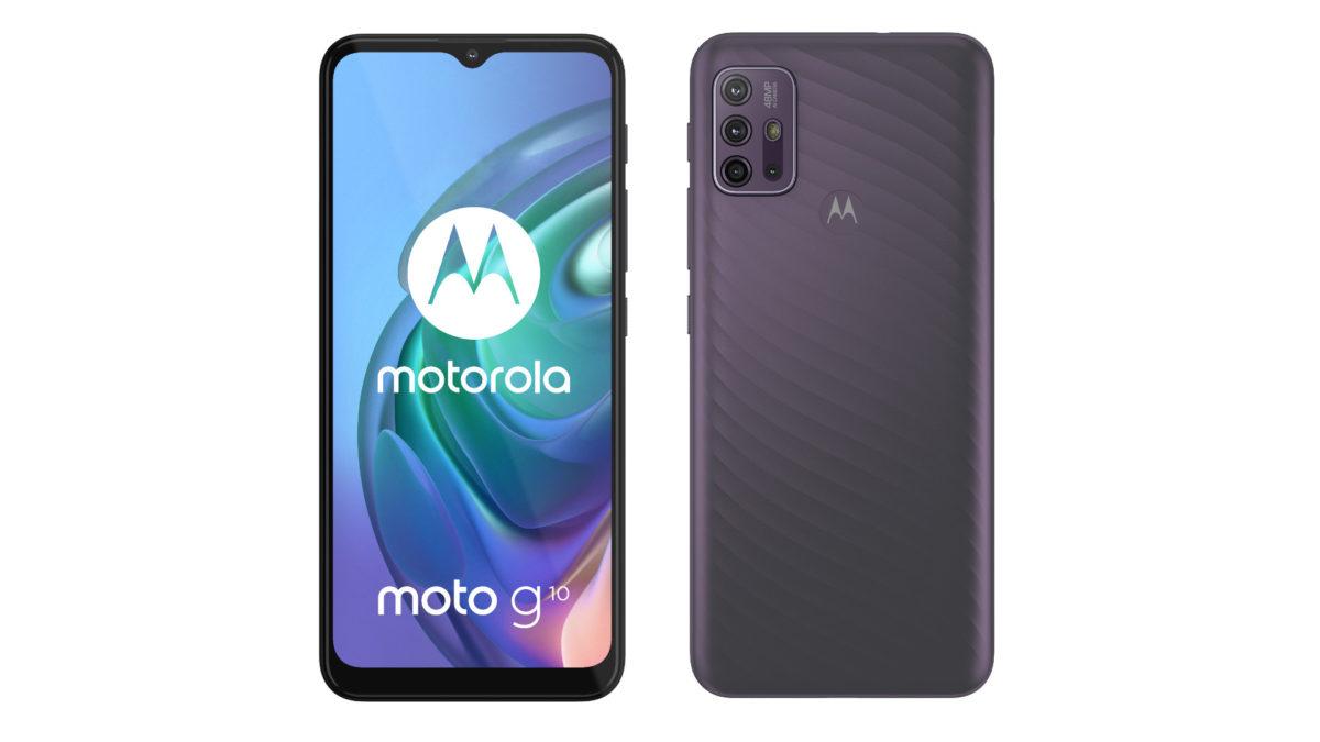 Oficial da Motorola Moto G10
