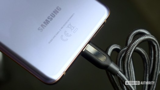 Samsung Galaxy S21 Plus Charging USB C
