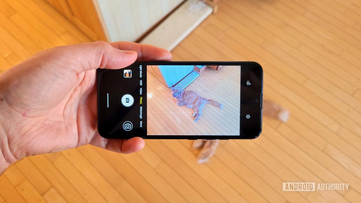 App de câmera Teracube 2e