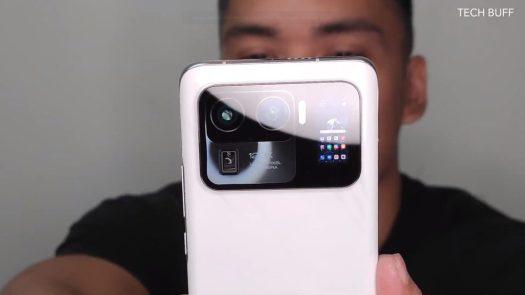 Xiaomi Mi 11 Ultra Tech Buff PH rear screen