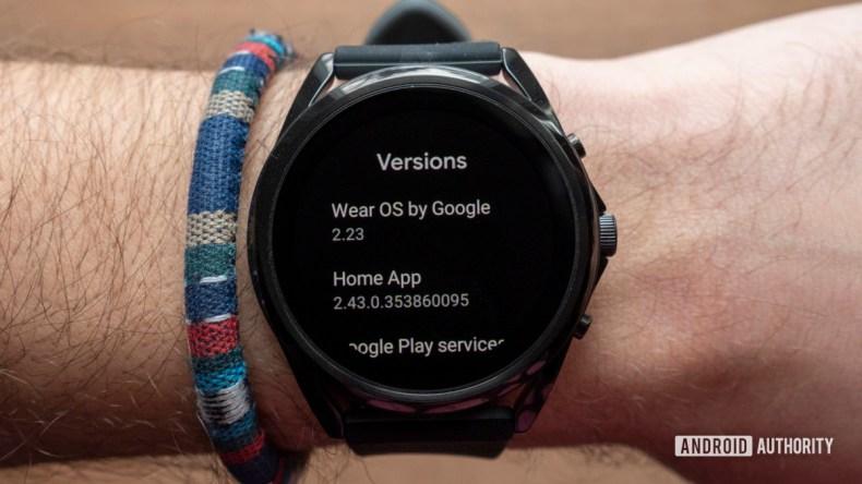 fossil gen 5 lte review wear os version on wrist