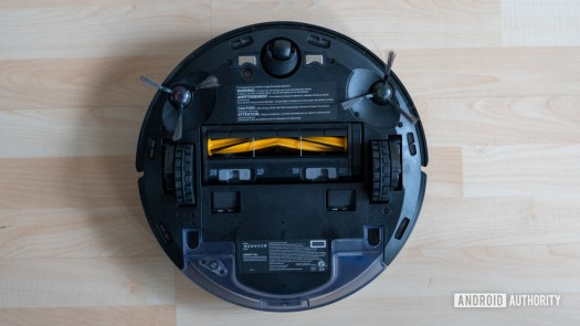 Ecovacs Deebot Ozmo N8 review bottom view full