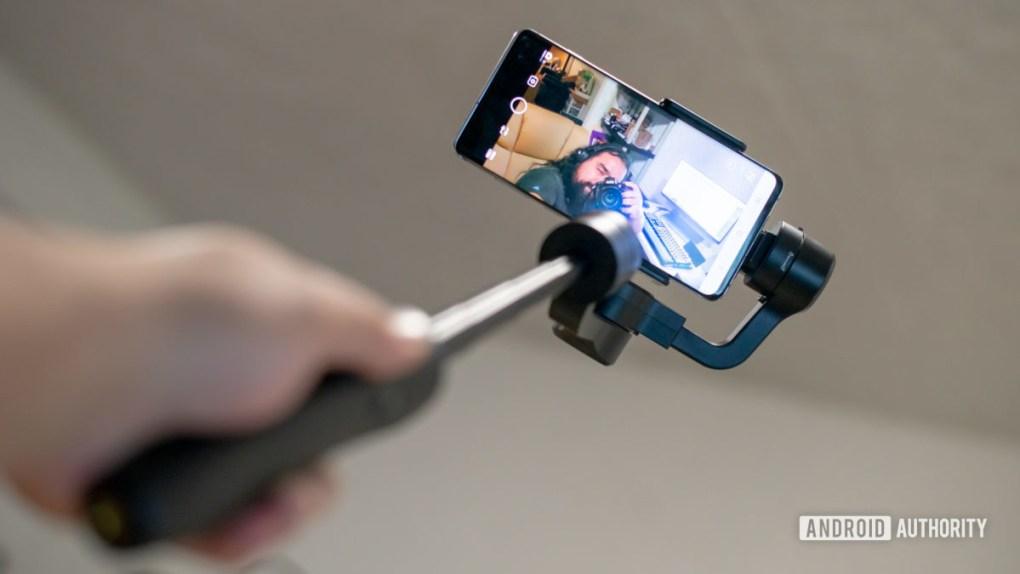 Feiyutech Vimble 2S extended selfie