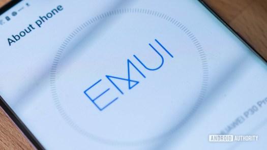 Huawei P30 Pro EMUI logo
