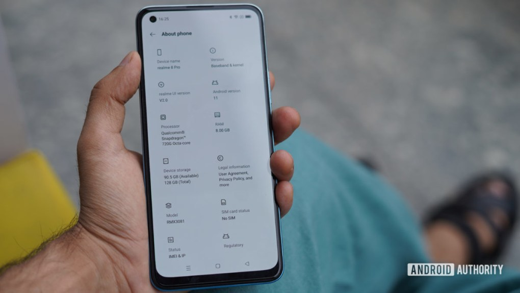 Realme 8 Pro review with specs on phone