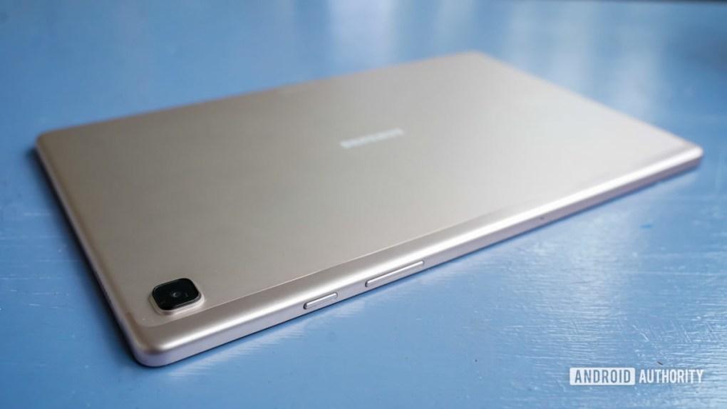 Samsung Galaxy Tab A7 controls