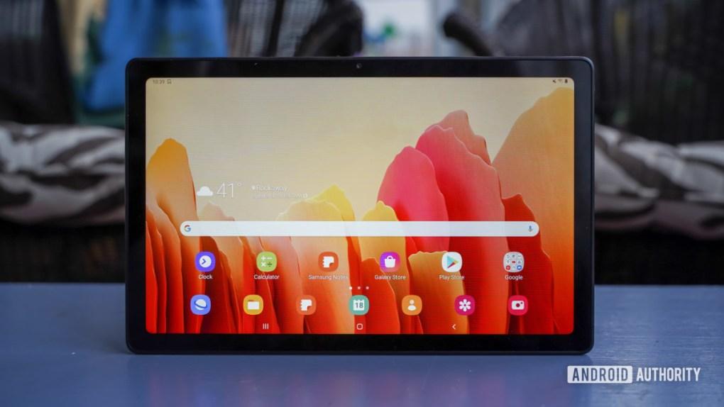 Samsung Galaxy Tab A7 display