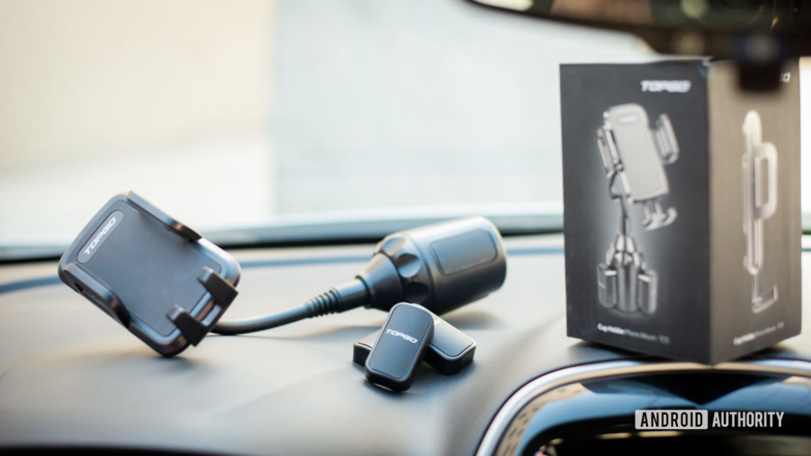 TopGo Cup Holder Phone Mount review 6