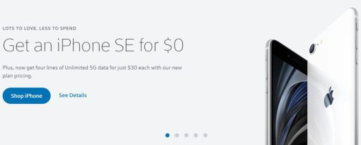 Xfinity Mobile iPhone SE Deal