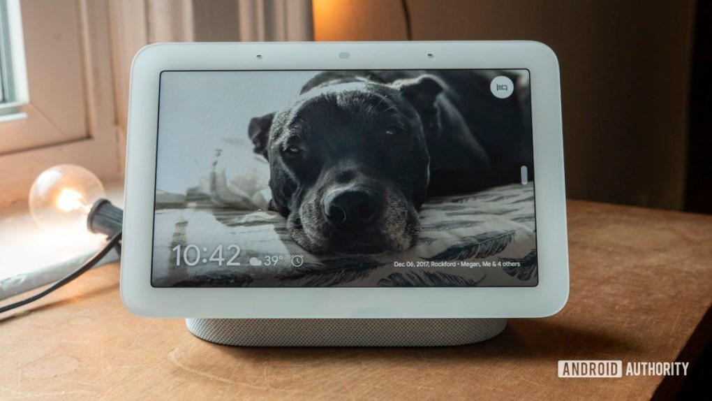 google nest hub second generation review photo frame 2