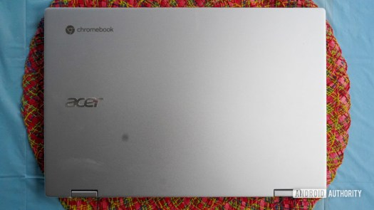 Acer Chromebook Spin 513 top lid
