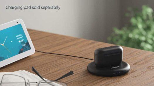Amazon Echo Buds 2nd Gen wireless charging