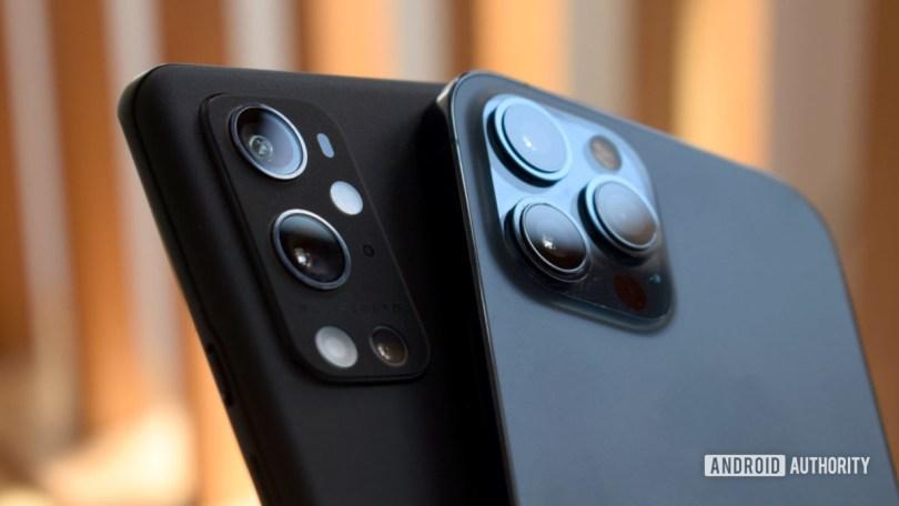 OnePlus 9 Pro vs Apple iPhone 12 Pro Max camera