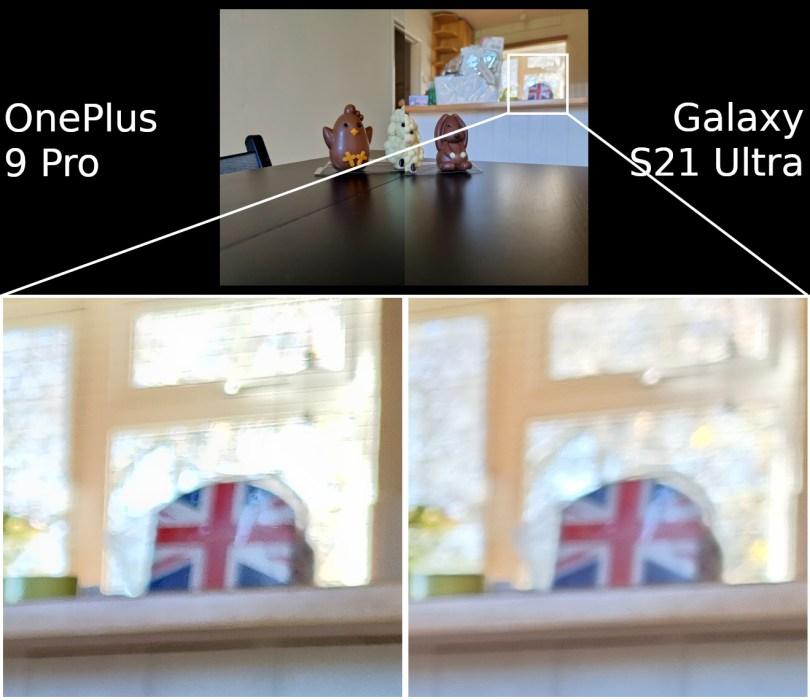 OnePlus 9 Pro vs Samsung Galaxy S21 Ultra camera hdr