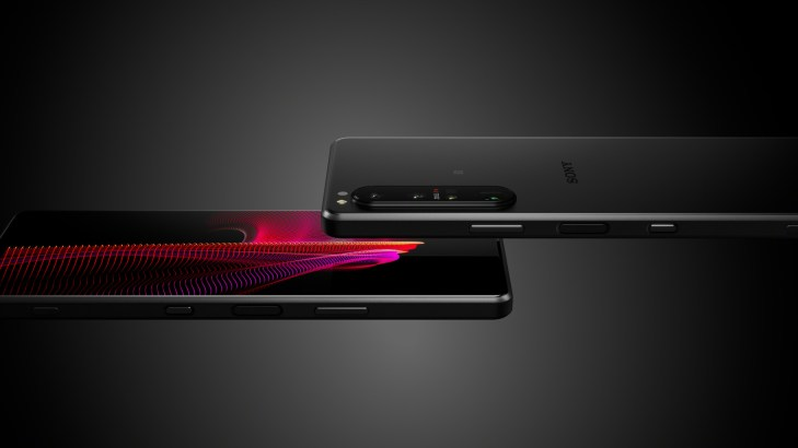 Sony Xperia 1 III front and back official edit