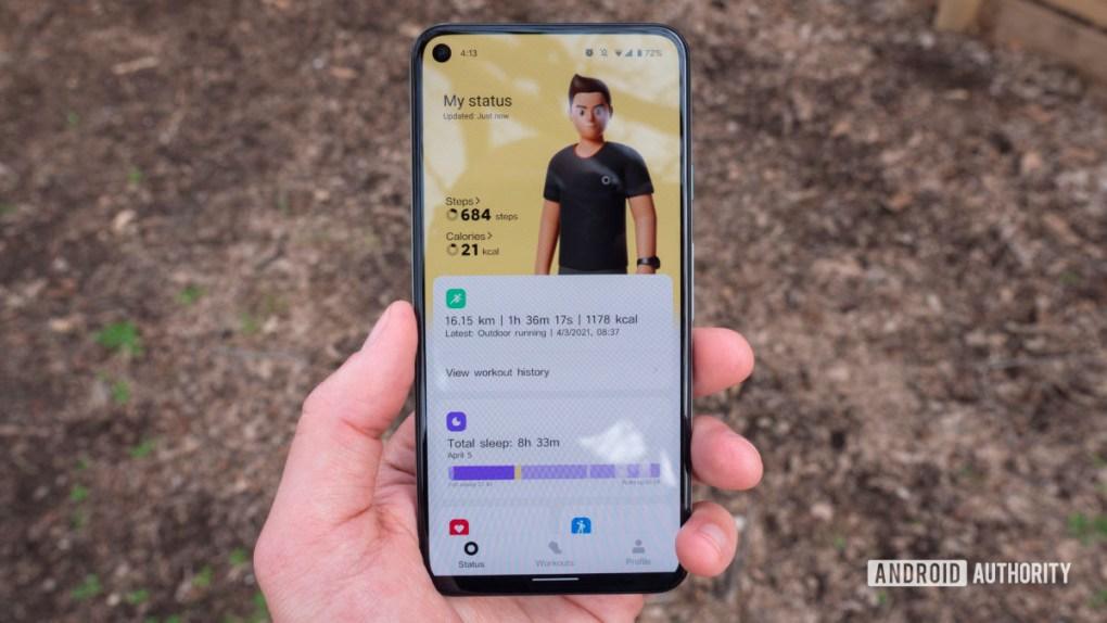 xiaomi mi band 6 review xiaomi wear app status home screen
