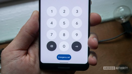 android 12 beta 1 hands on pin pad password lock screen