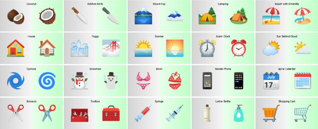 android 12 emoji beta 1