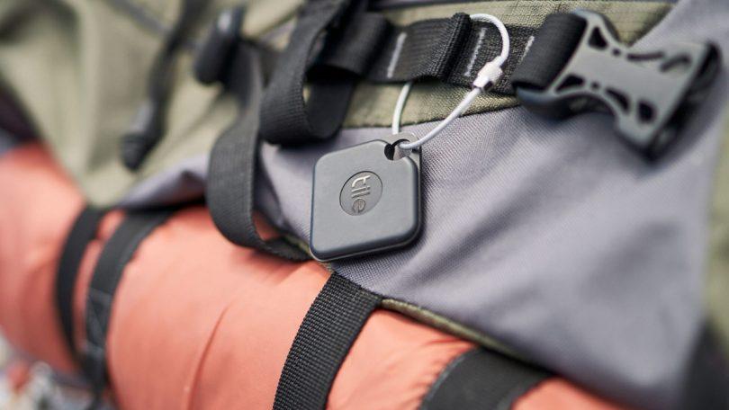 tile pro on backpack