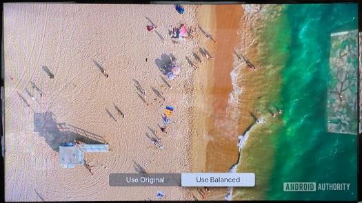 Apple TV 4K Color balance balanced