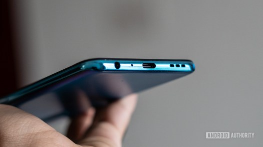 OnePlus Nord CE showing USB C port