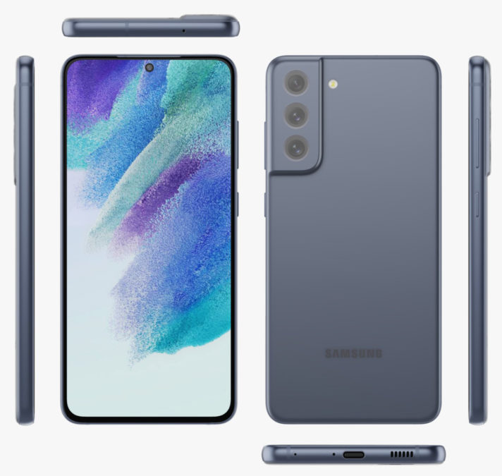 Samsung Galaxy S21 FE Blue Evan Blass