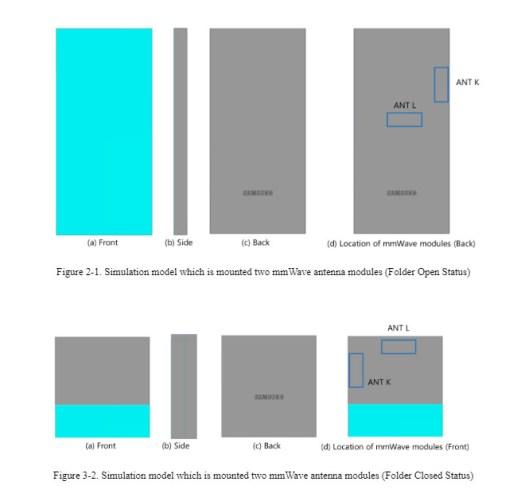 Samsung Galaxy Z Flip 3 FCC diagram