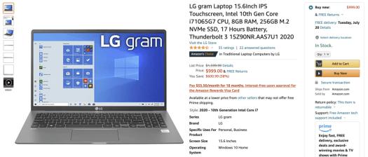 LG Gram Deal