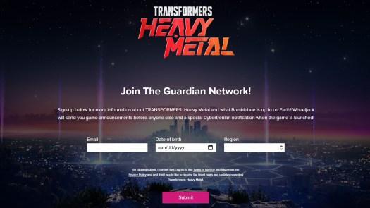 Transformers Heavy Metal Website