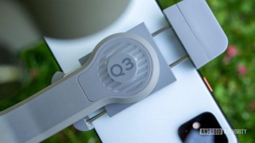 Zhiyun Smooth Q3 clamp closeup