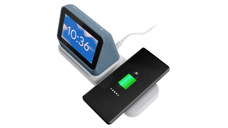 lenovo smart clock 2 wireless phone charging