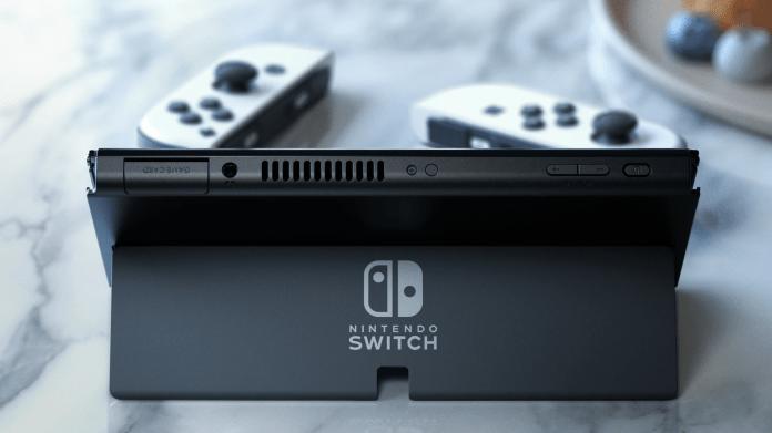 Nintendo Switch OLED Model Kickstand