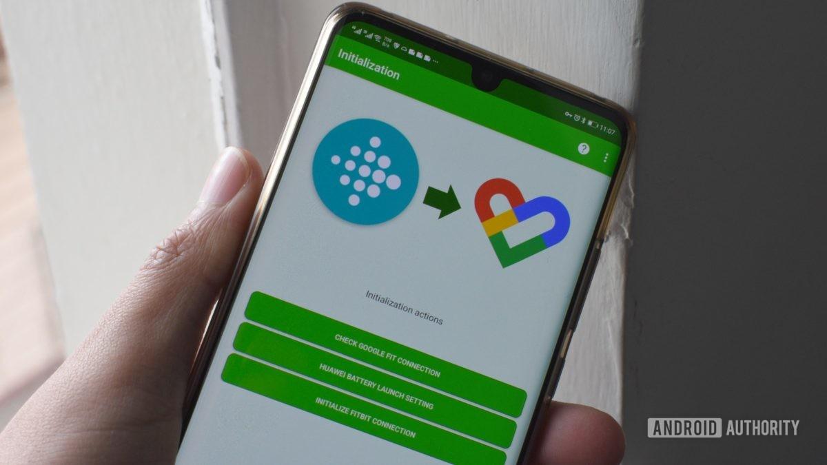 Fitbit синхронизация Google Fit Health Sync 1