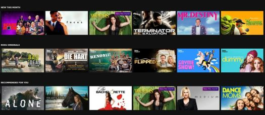 roku channel movies and tv shows