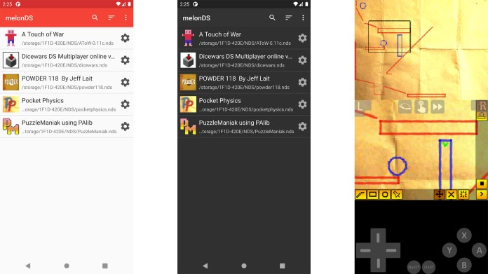 MelonDS screenshot