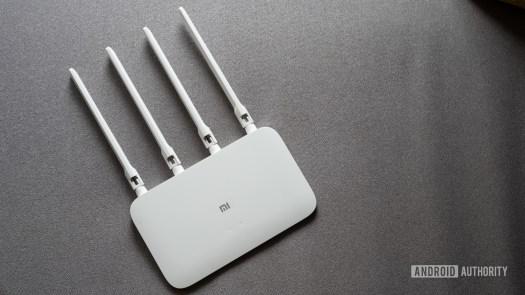 Mi Router 4A gigabit edition top down