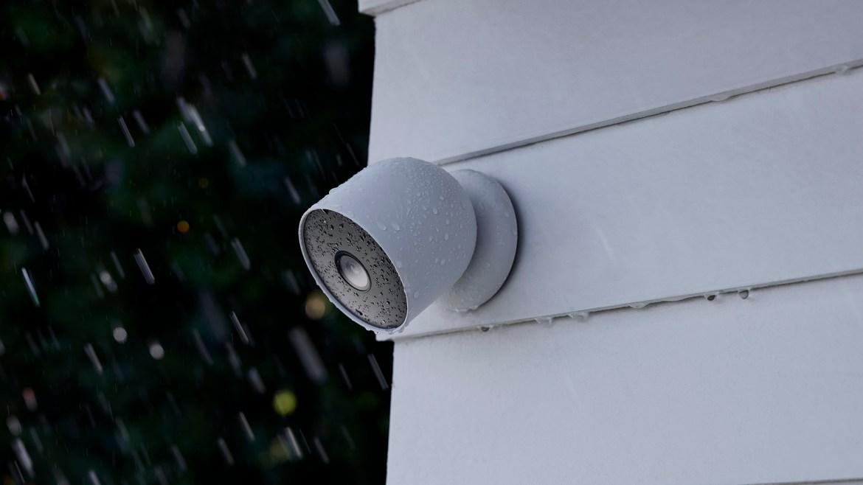 Nest Cam battery outdoor rain