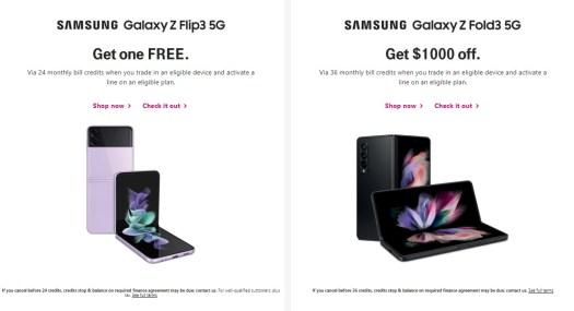 Samsung Galaxy Z T Mobile Deals