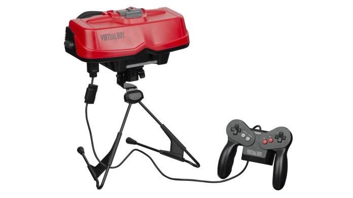 Virtual Boy and controller.