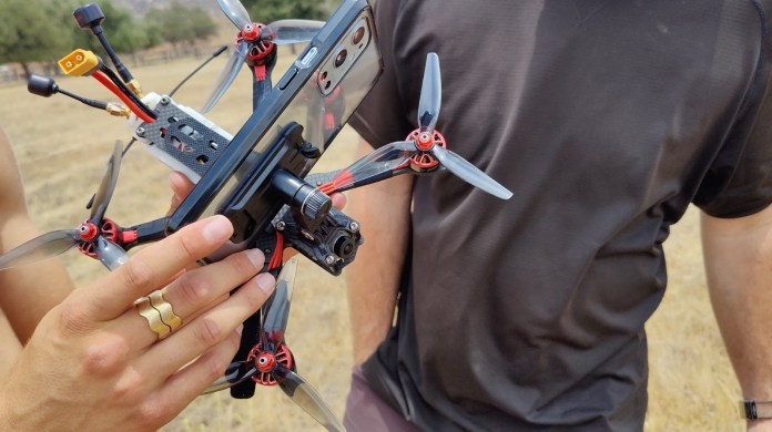 oneplus skydiving drone
