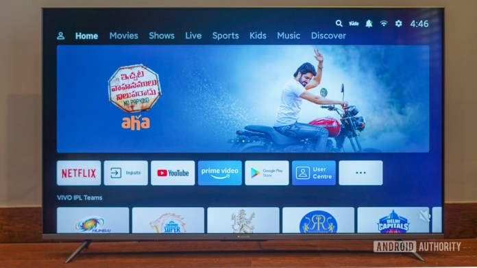 Mi TV 5x 55 inch review patchwall collection