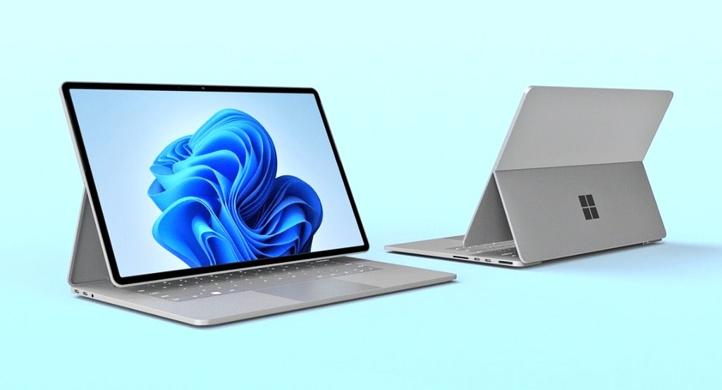 Renders of Microsoft's Surface Book 4.
